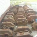 Закупаем Редуктора,крановые колеса,грузовые барабаны,крюки,муфты ,буксы,блоки и многое другое.