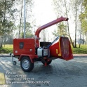 Мобильные измельчители древесины Teknamotor (Польша)