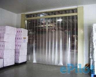 ПВХ шторы/завесы ленточные для склада, фотография 3